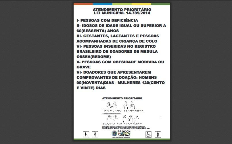 SindiVarejista orienta a afixação de cartaz de Atendimento Prioritário