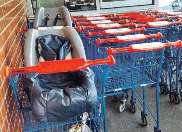 Varejistas de supermercado se atentem a limpeza dos carrinhos de compra
