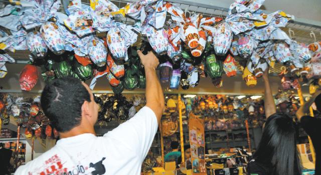 Metade dos brasileiros pretende presentear alguém na Páscoa