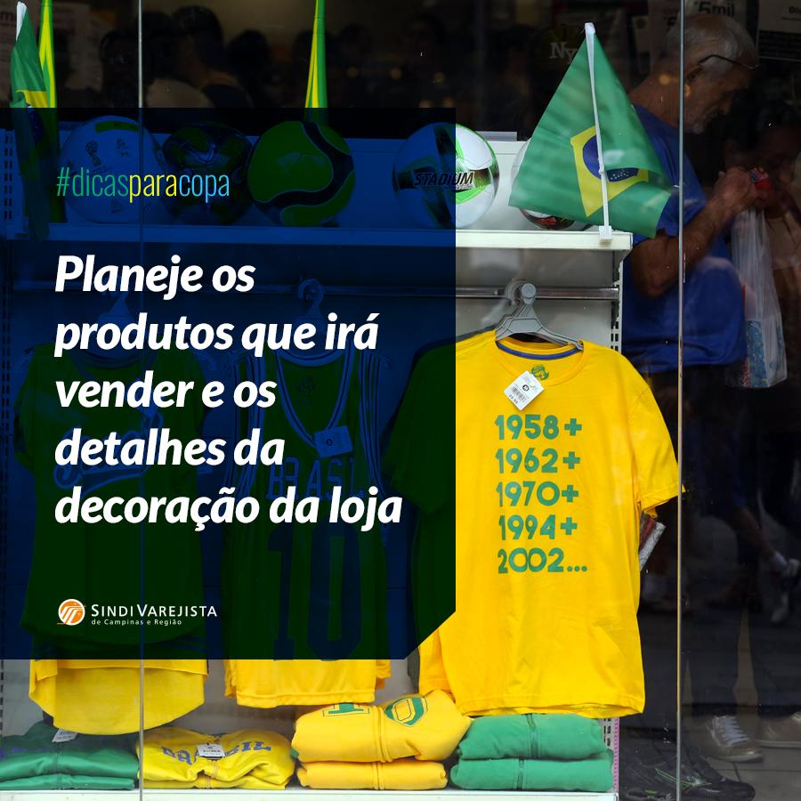 Especial Copa: Planeje os produtos que irá vender e torne sua vitrine campeã