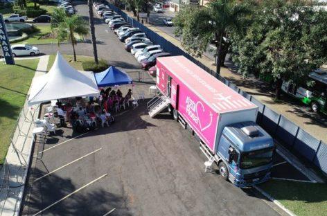 Outubro Rosa: SindiVarejista divulga locais da carreta de mamografia; confira!