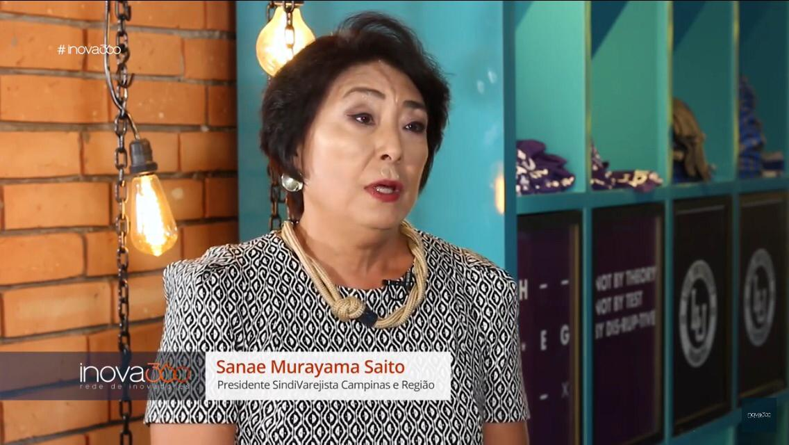 Presidente do Sindi é entrevistada pela Record News