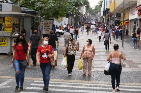 Comércio da região de Campinas segue na fase amarela com funcionamento por até 10 horas diárias