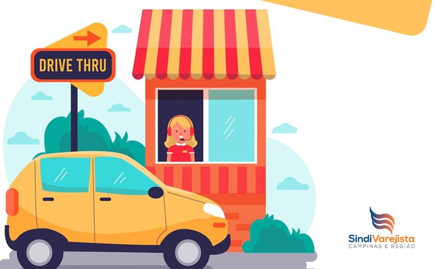 Campinas autoriza retorno do drive-thru para estabelecimentos comerciais