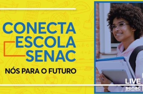 Senac está com matrículas abertas para o Ensino Médio Técnico com desconto de 20%